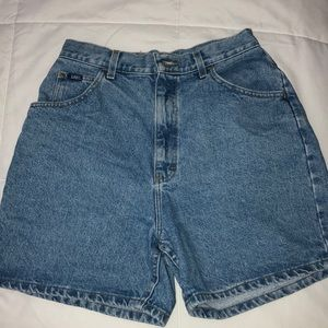 Lee High Waist Denim Shorts